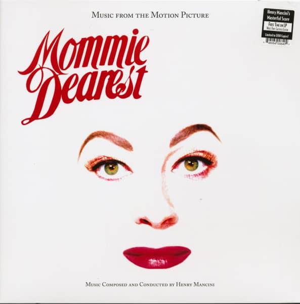 Mommie Dearest - Motion Picture Soundtrack (LP, White Vinyl, Ltd.)