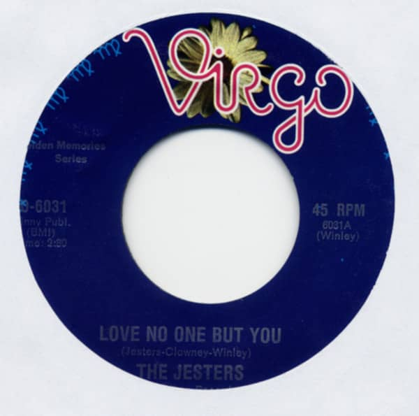 Love No One But You b-w So Strange 7inch, 45rpm