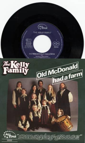 Old McDonald Had A Farm b-w Amazing Grace 7inch-Single ALL STAR 55552