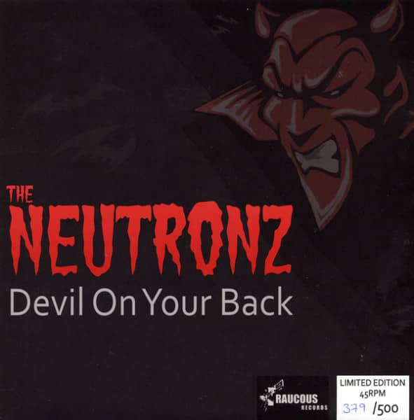 Devil On Your Back 7inch, 45rpm, EP, PS, SC - pink wax