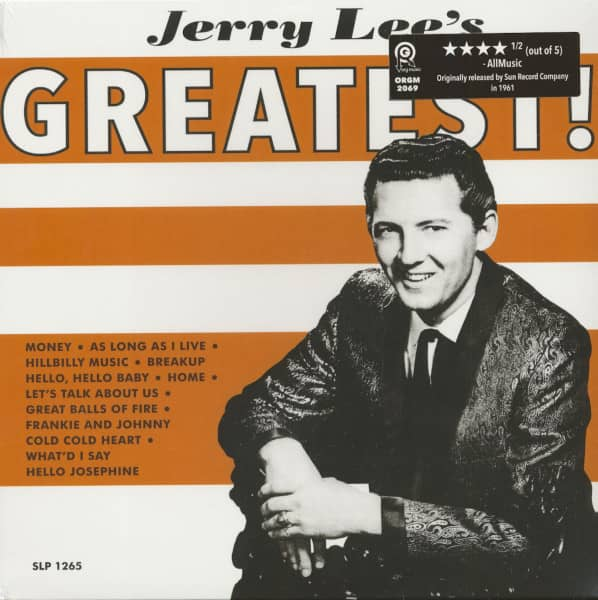 Jerry Lee's Greatest (LP)