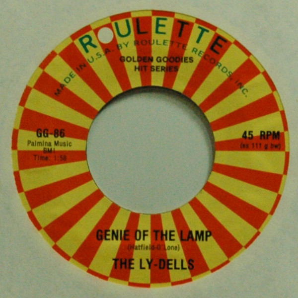 Genie Of The Lamp b-w Wizard Of Love 7inch, 45rpm