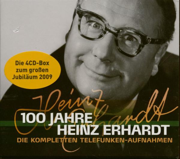 100 Jahre Heinz Erhardt - Die kompletten Telefunken Aufnahmen (4-CD)