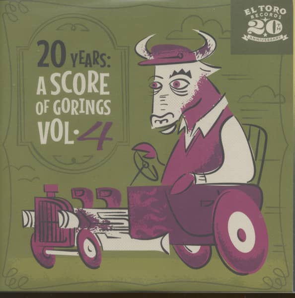 20 Years - A Score Of Gorings, Vol.4 (EP, 7inch, 33rpm, PS, sc)