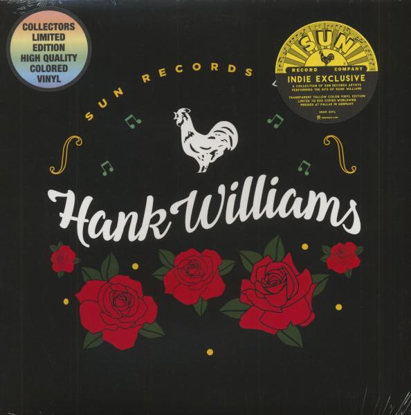 Sun Records Does Hank Williams (LP, Colored Vinyl, Ltd.)