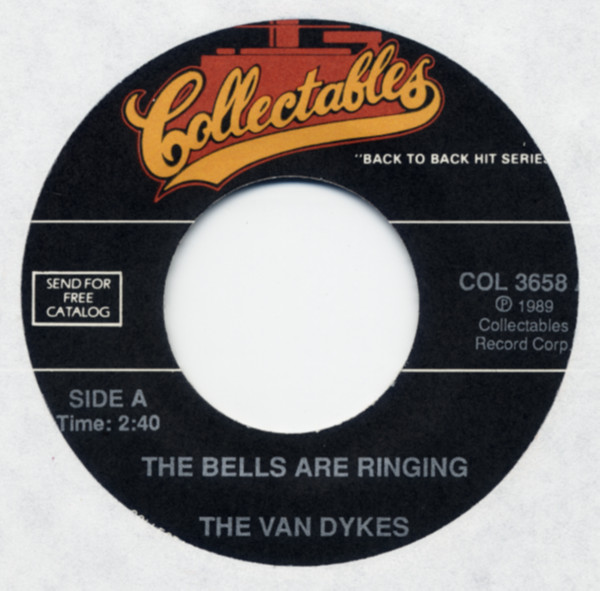 The Bells Are Ringing b-w Teardrops Are Falling 7inch, 45rpm