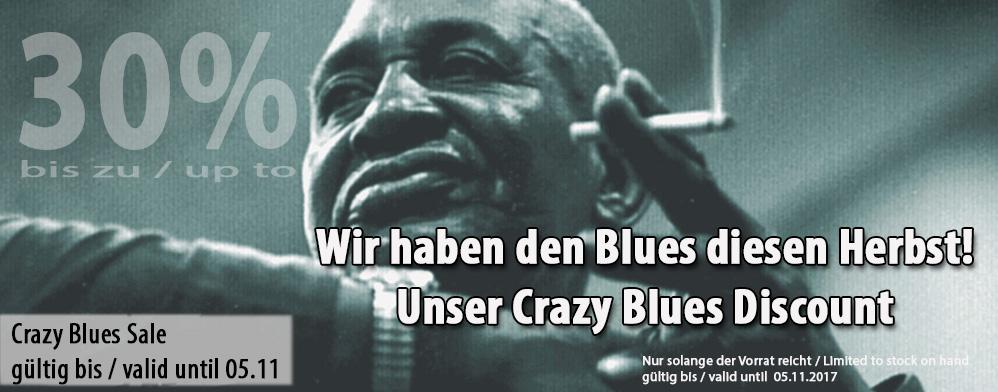 Crazy Blues Sale