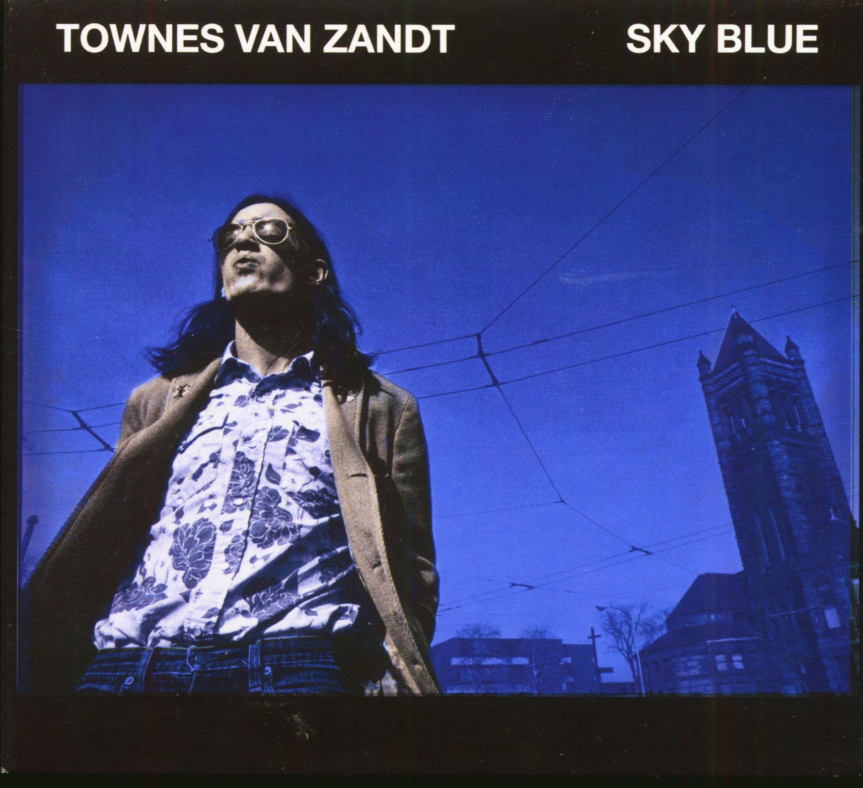 Townes Van Zandt Cd Sky Blue Cd Bear Family Records