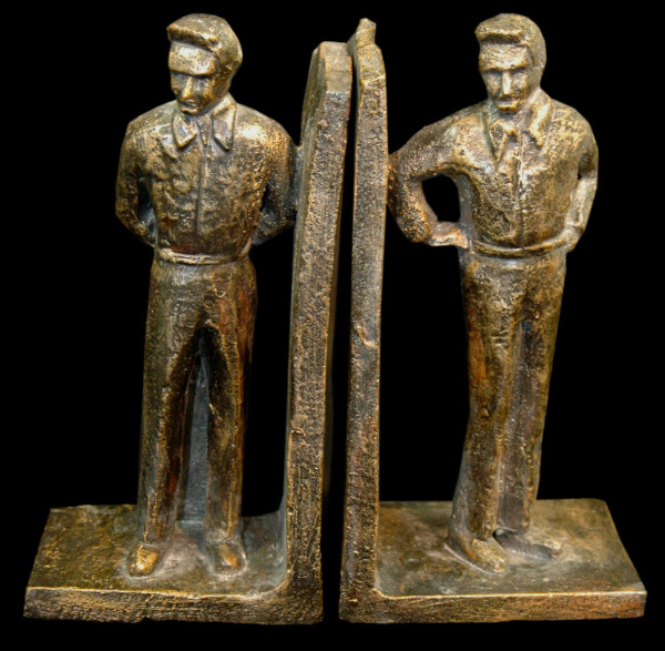 Bear Bookends Johnny Cash - Limited Edition
