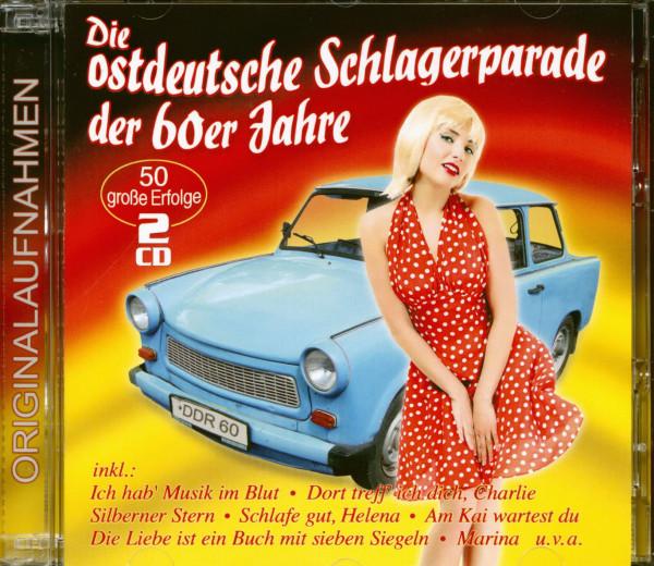 Die ostdeutsche Schlagerparade der 60er Jahre - 50 große Erfolge (2-CD)
