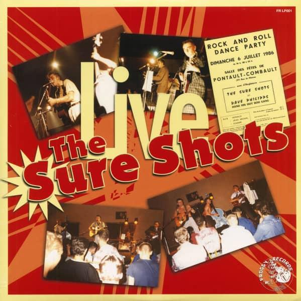 The Sure Shots - Live (LP)
