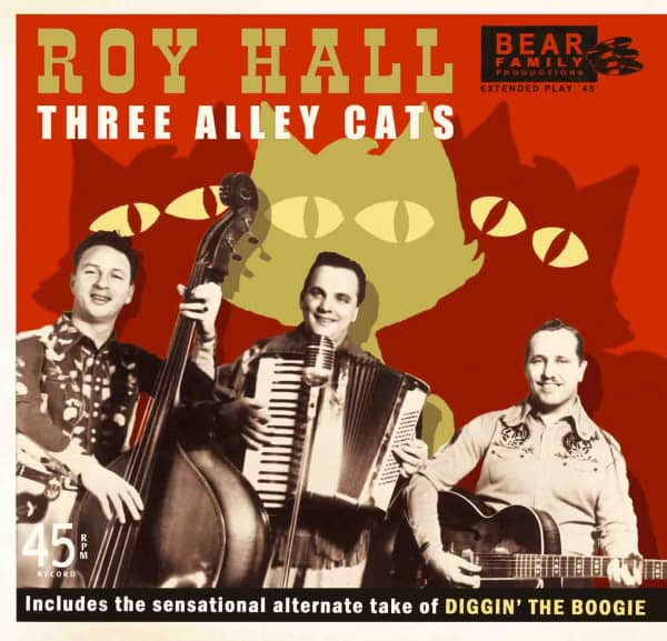 Three Alley Cats (7inch, EP, 45rpm, PS)
