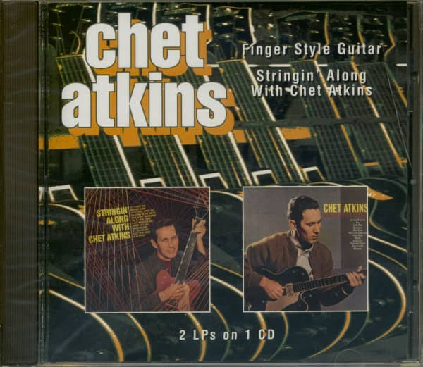 Finger Style Guitar - Stringin' Along With Chet (CD)