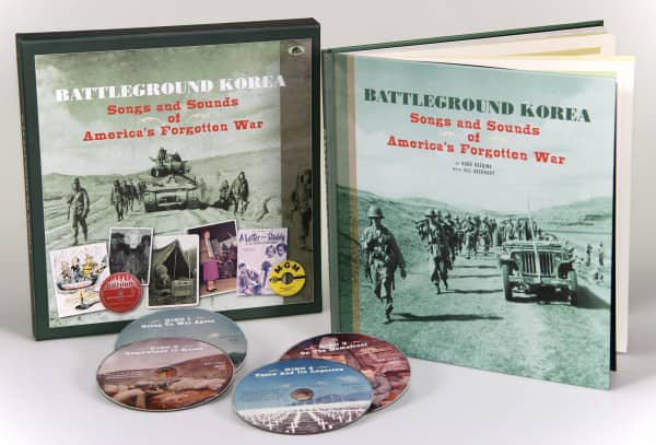Battleground Korea - Songs and Sounds of America's Forgotten War (4-CD Deluxe Box Set)