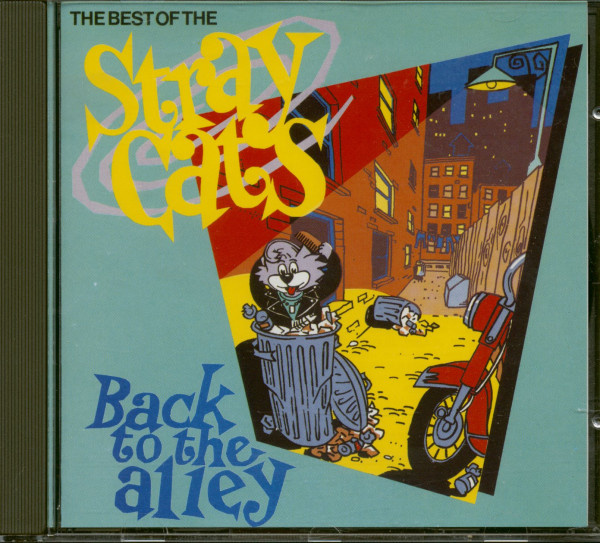 The Best Of The Stray Cats - Back To The Alley (CD, EU Version)