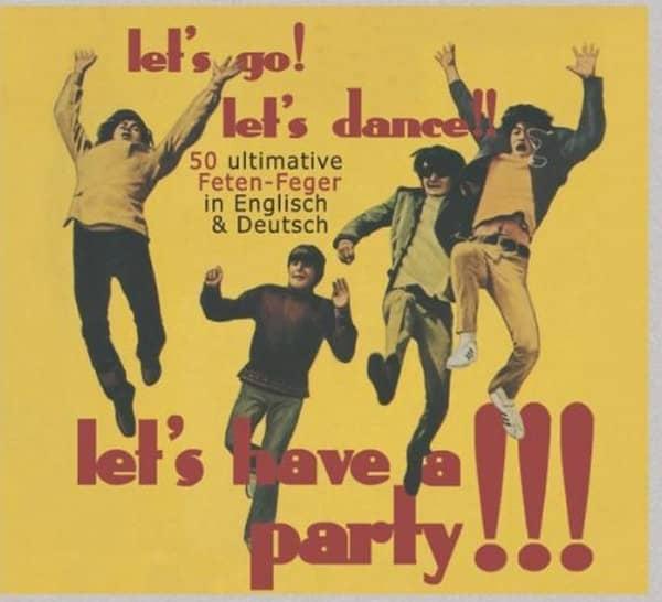 Let's Go! Let's Dance! Let's Have 2-CD-Digi