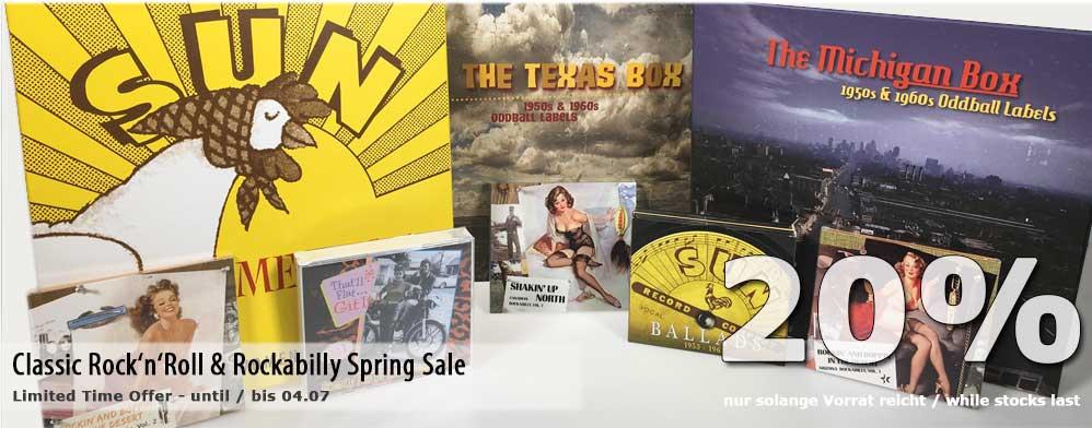 Classic Rock'n'Roll & Rockabilly Spring Sale