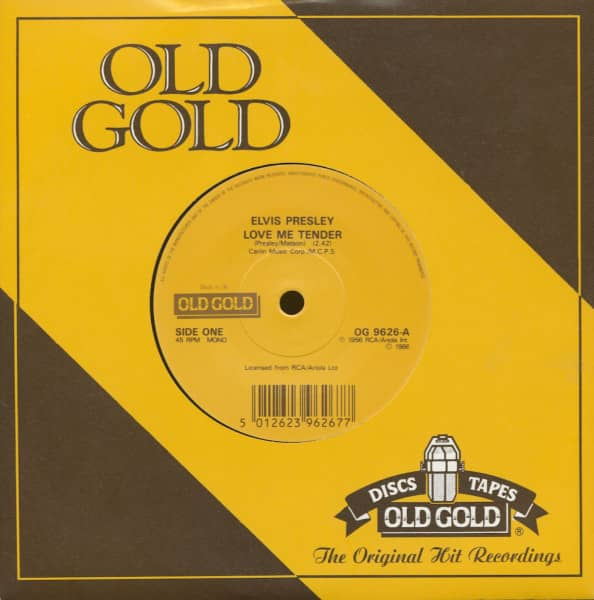 Love Me Tender - (Let Me Be Your) Teddy Bear (7inch, 45rpm, sc)