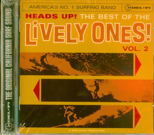 Heads Up! - The Best Of The Lively Ones! Vol.2 (Cut-Out)