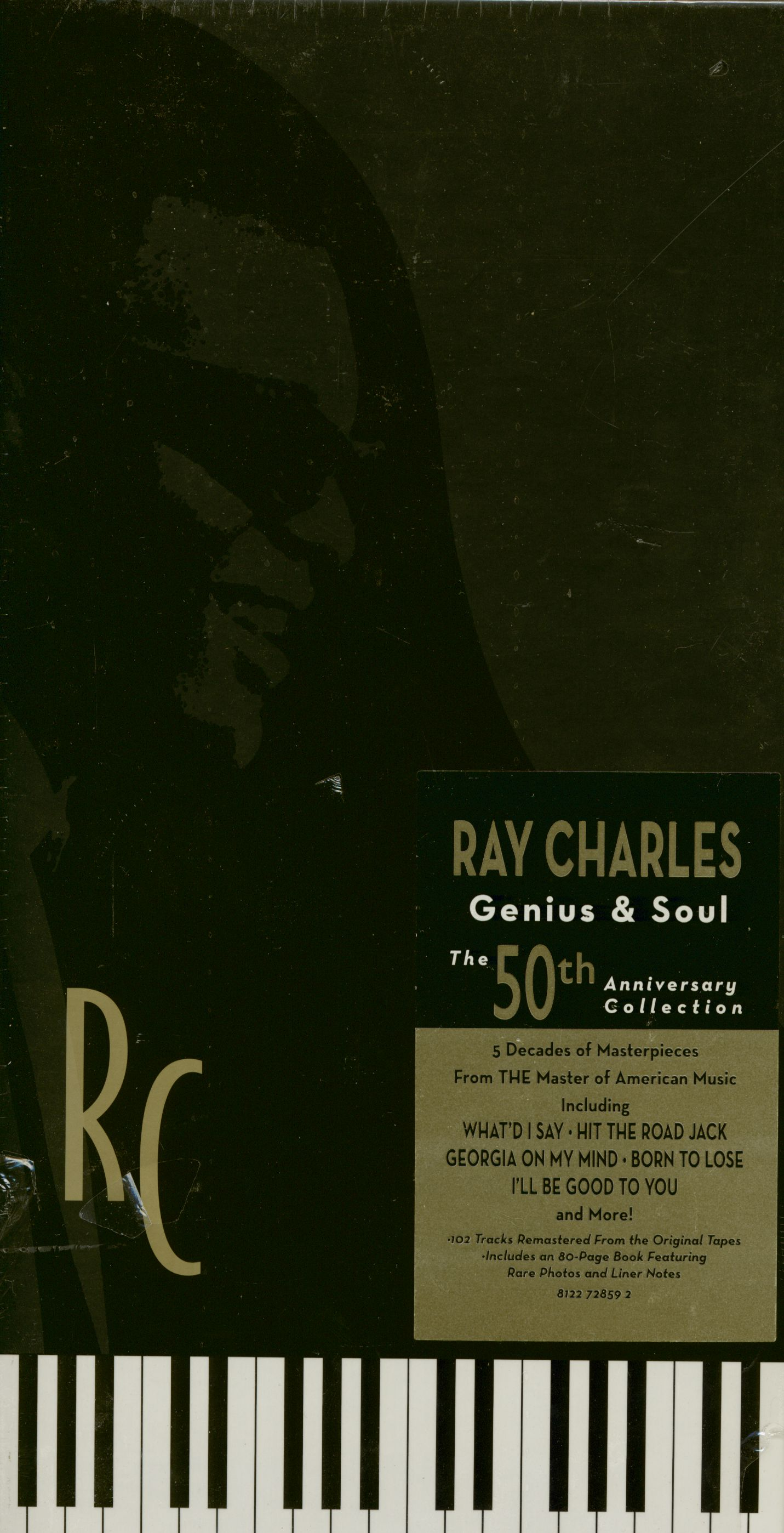Ray Charles Cd Genius Amp Soul The 50th Anniversary