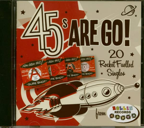 45s Are Go! - 20 Rocket Fuelled 45s (CD)