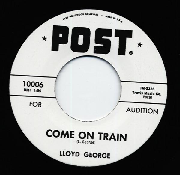 Come On Train b-w Frog Hunt 7inch, 45rpm