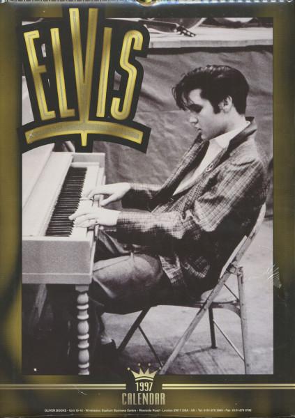 Elvis Presley - 1997 Oliver Books Calendar