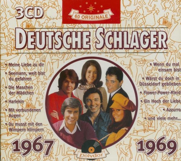 Deutsche Schlager 1967-1969 3-CD