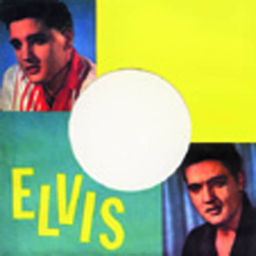 (50) Elvis - 45rpm record sleeve - 7inch Single Cover