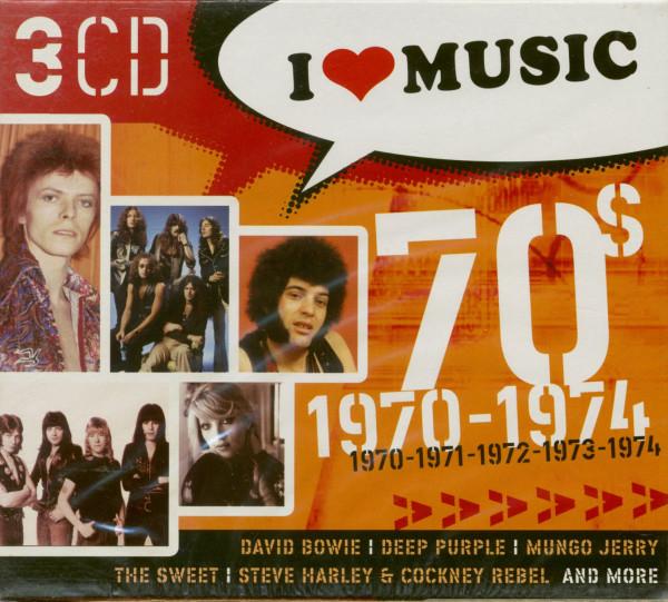I Love Music 1970-1974 (3-CD)