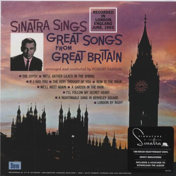 Sinatra Sings Great Songs From Great Britain - 180gr vinyl LP