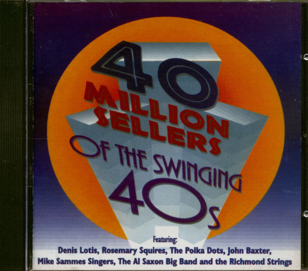 40 Million Sellers of the Swinging 40's (CD)