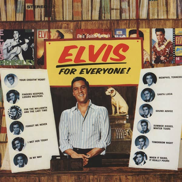 Elvis For Everyone (1983 re-issue GER)