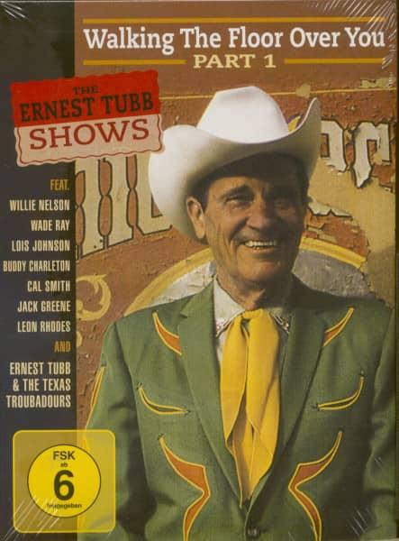 The Ernest Tubb Shows Vol.1 (62-64-67-82) (Code-0 DVD)