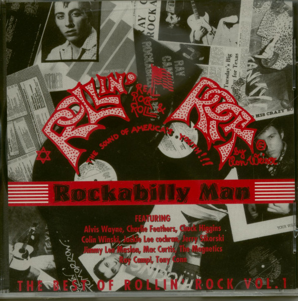 Rockabilly Man - Best Of Rollin' Rock Vol.1 (CD)