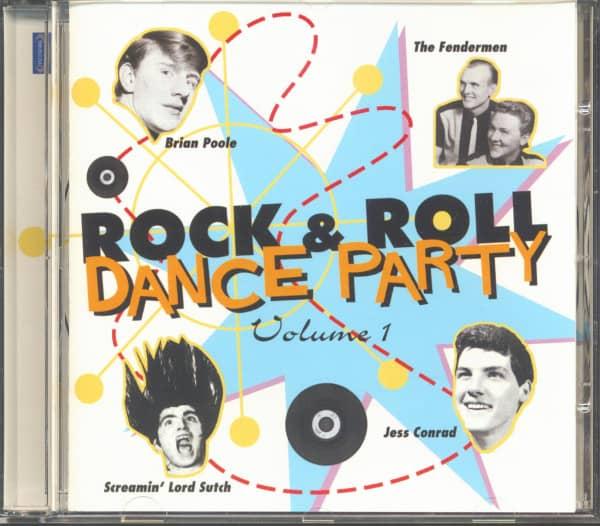 Rock & Roll Dance Party Vol.1 (CD)