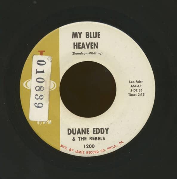 My Blue Heaven b-w Along Came Linda (7inch, 45rpm)