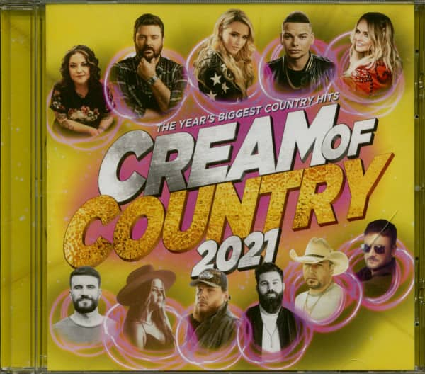 Cream Of Country 2021 (CD)