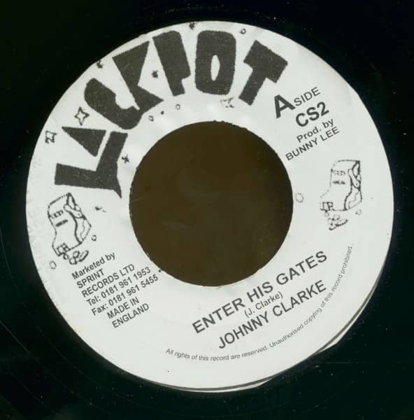 Enter His Gates - Version (7inch, 45rpm, BC)