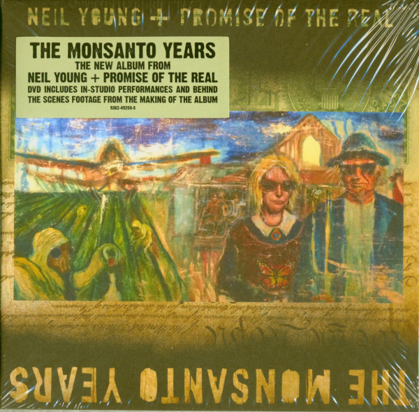 Neil Young & Promise Of The Real - The Monsanto Years (CD & DVD)