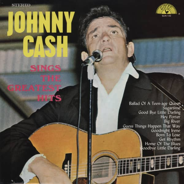 Johnny Cash Sings The Greatest Hits (LP)