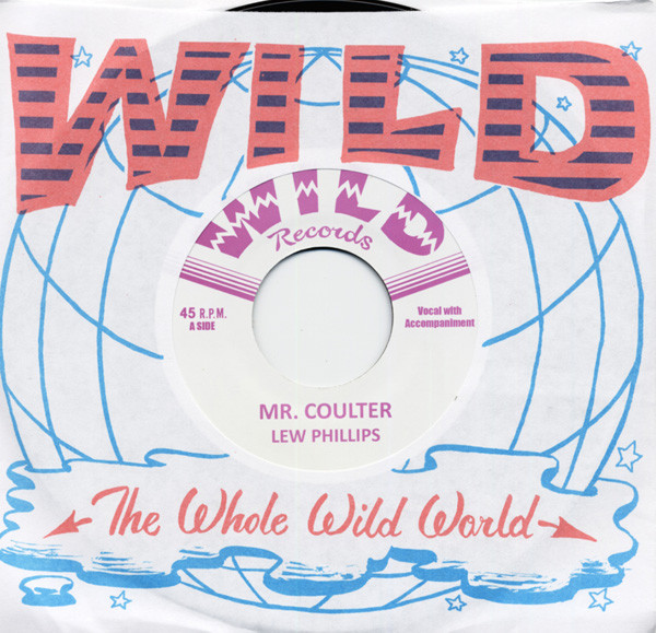 Mr. Coulter b-w Silent Love 7inch, 45rpm