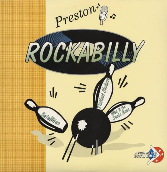 Preston Rockabilly (LP, 10inch)