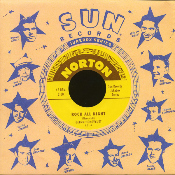 Sun Records Jukebox Series - Glenn Honeycutt & Jimmy Wages (7inch, 45rpm)