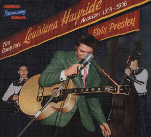 Complete Louisiana Hayride Archives 1954-56