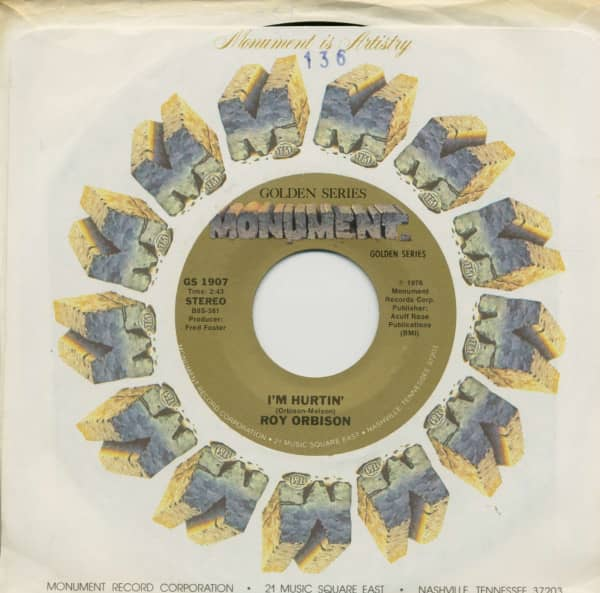 Dream Baby (How Long Must I Dream) - I'm Hurtin' (7inch, 45rpm, BC, CS)