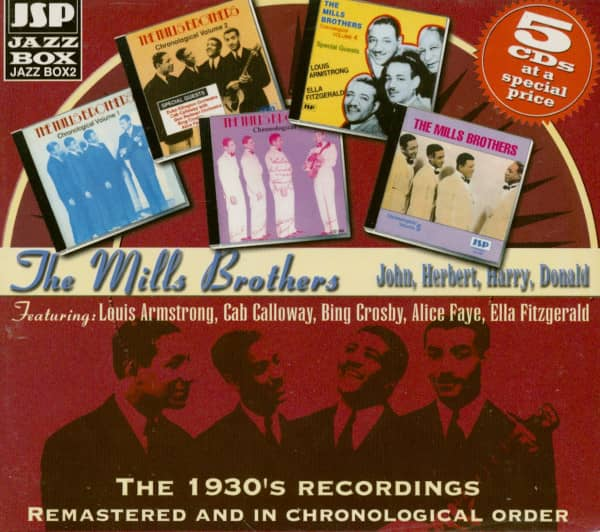 The 1930's Recordings (5-CD)