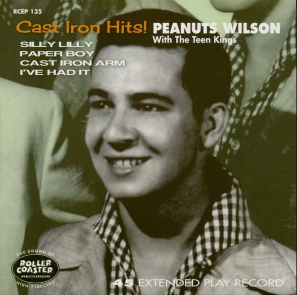 Cast Iron Hits! (7inch EP, 45rpm, PS)