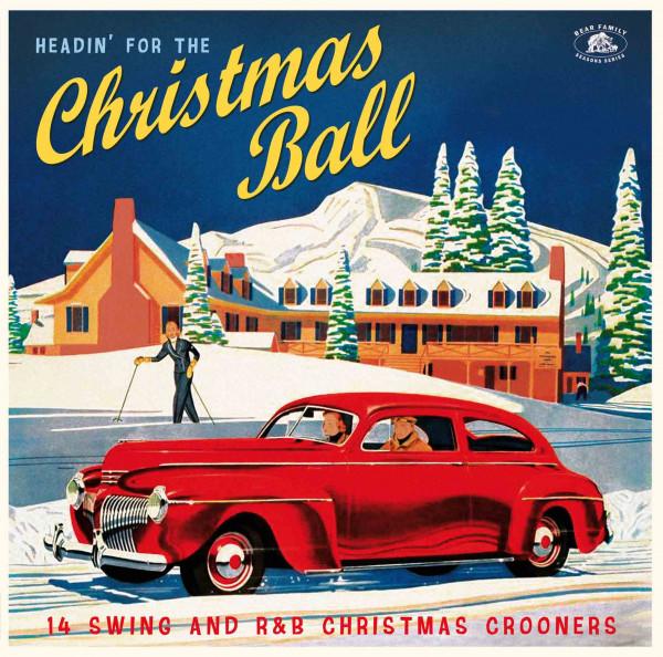 Headin' For The Christmas Ball - (LP, Red Vinyl)