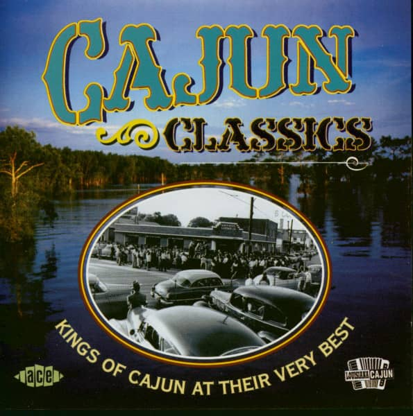 Cajun Classics - Kings Of Cajun At Their Bery Best (CD)